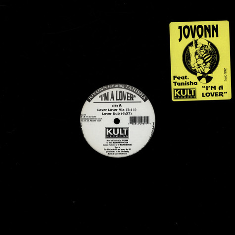 Jovonn Featuring Tanisha - I'm A Lover