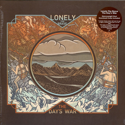 Lonely The Brave - The Day's War