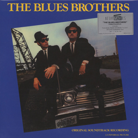 V.A. - OST Blues Brothers Blue Vinyl Edition