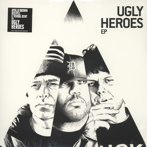 Ugly Heroes (Apollo Brown, Verbal Kent & Red Pill) - The Ugly Heroes EP