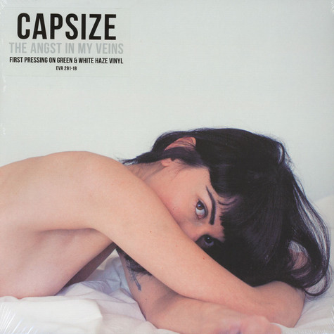 Capsize - Angst In My Veins Green & White Haze Vinyl Edition