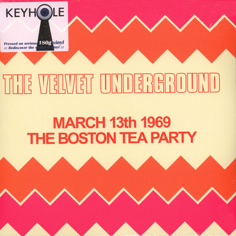 Velvet Underground - Boston Tea Party, March 13th, 1969