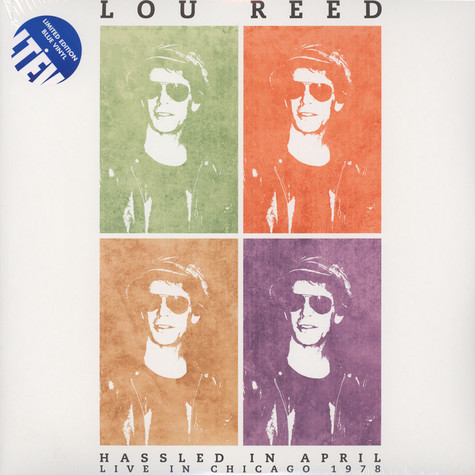 Lou Reed - Hassled In April Blue Vinyl Edition