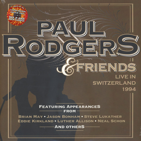 Paul Rodgers - Live In Switzerland