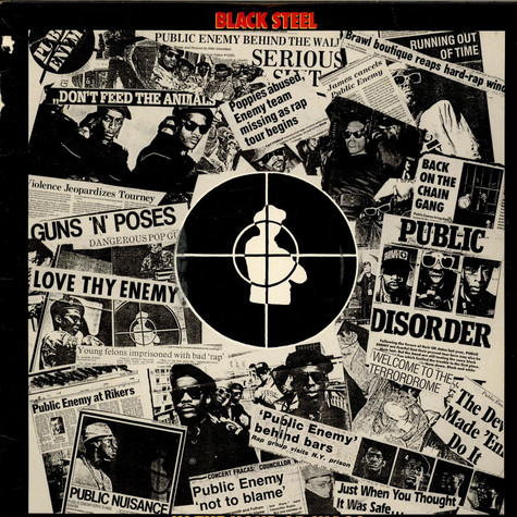Public Enemy - Black Steel In The Hour Of Chaos
