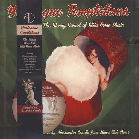 V.A. - Burlesque Temptations - The Swinging Sound Of Strip Music Volume 2