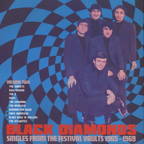 V.A. - Black Diamonds - Singles From The Festival Vaults 1965-1969 Volume Two