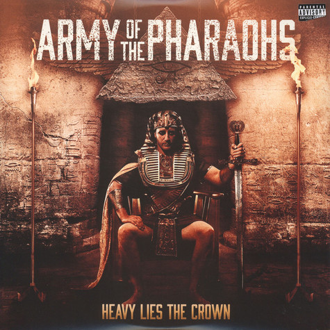 Army Of The Pharaohs - Heavy Lies The Crown Clear Vinyl Edition
