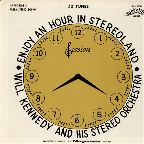 Will Kennedy And His Stereo Orchestra - Enjoy An Hour In Stereoland