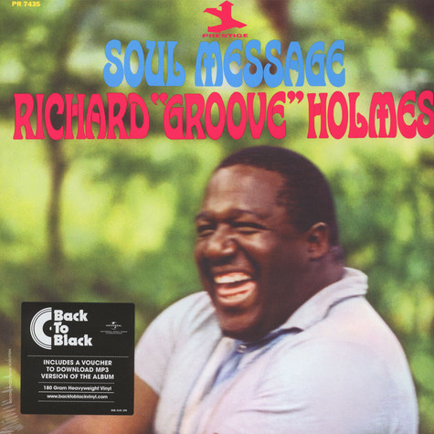 "Richard ""Groove"" Holmes - Soul Message Back To Black Edition"