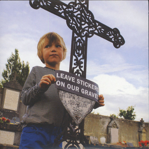 Not Scientists - Leave Stickers On Our Graves