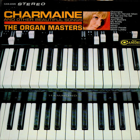 Organ Masters, The - Charmaine And Other Beautiful Organ Songs