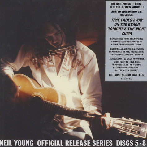 Neil Young - Official Release Series Disc 5-8