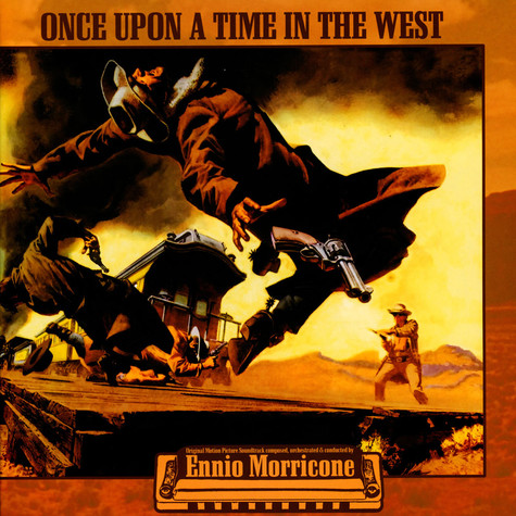 Ennio Morricone - OST C'Era Una Volta Il West (Once Upon A Time In The West) Black Vinyl Edition