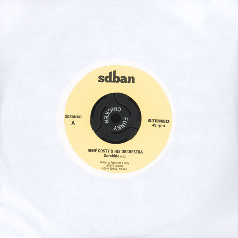 Rene Costy / Mad Unity - Scrabble / Funky Tramway - Funky Chicken Sampler 7/7
