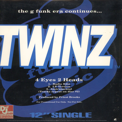 Twinz / Dove Shack - The G Funk Era Continues...