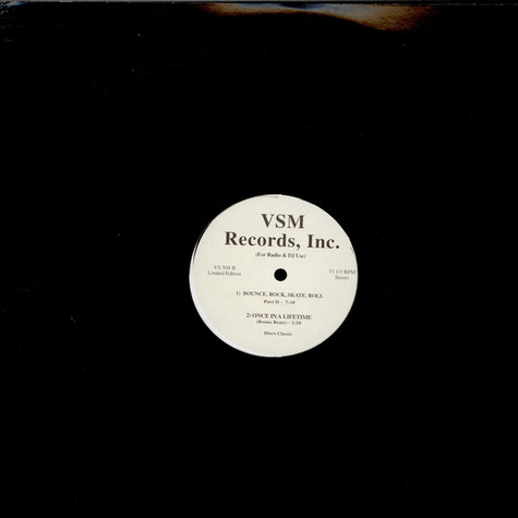 Vaughan Mason / Talking Heads - Bounce, Rock, Skate, Roll / Once In A Lifetime