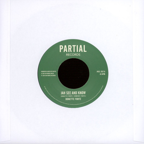 Donette Forte - Jah See and Know