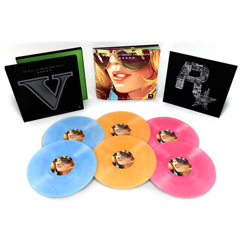 V.A. - The Music of Grand Theft Auto (GTA) V Limited Edition