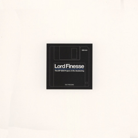 Lord Finesse - The SP1200 Project: A Re-Awakening Ink Stamped Test Pressing