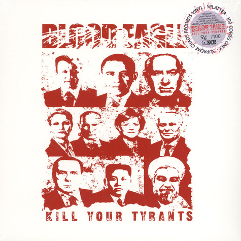 Blood Eagle - Kill Your Tyrants Splatter Vinyl Edition