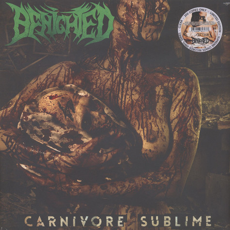Benighted - Carnivore Sublime Clear Vinyl Edition