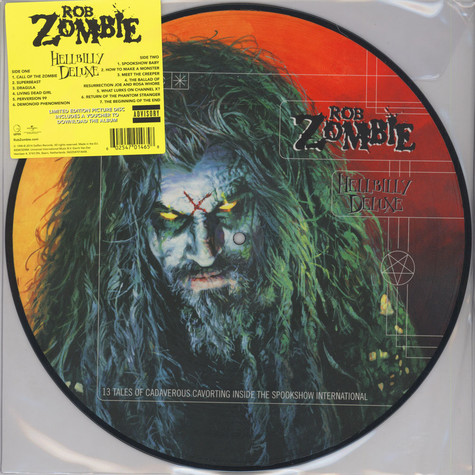 Rob Zombie - Hellbilly Deluxe Picture Disc Edition