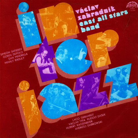 Vaclav Zahradnik And His East All Stars Band - Interjazz