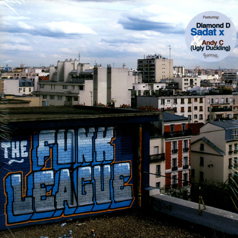 Funk League, The - The Boogie Down Bombers 12""