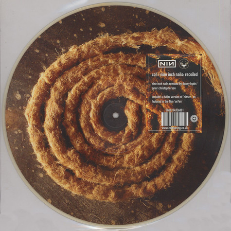 Coil / Nine Inch Nails - Recoiled Picture Disc Edition