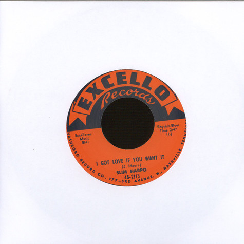 Slim Harpo - I've Got Love If You Want It / I'm A Kingbee