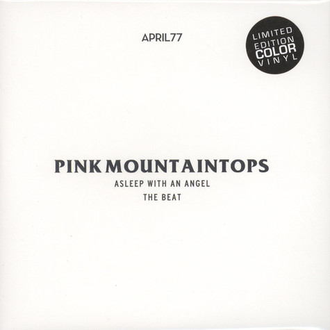 Pink Mountaintops - Asleep With An Angel