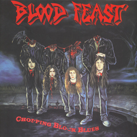 Blood Feast - Chopping Block Blues Black Vinyl Edition