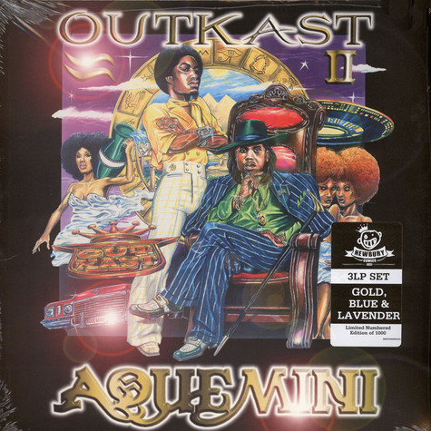 Outkast - Aquemini Colored Vinyl Edition