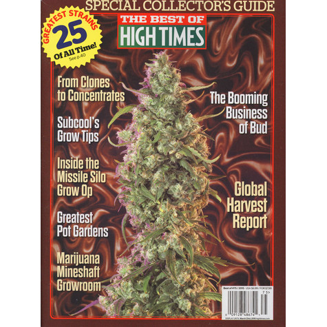 High Times Magazine - The Best Of High Times - Special Collector's Guide