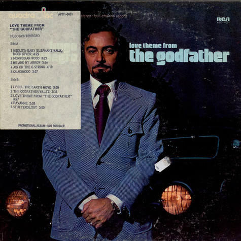 Hugo Montenegro - Love Theme From The Godfather
