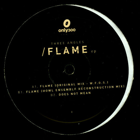 Three Angels - Flame EP