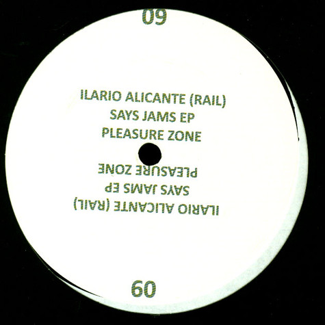 Ilario Alicante - Says Jams EP
