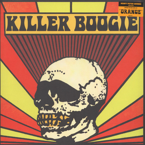 Killer Boogie - Detroit Orange Vinyl Edition