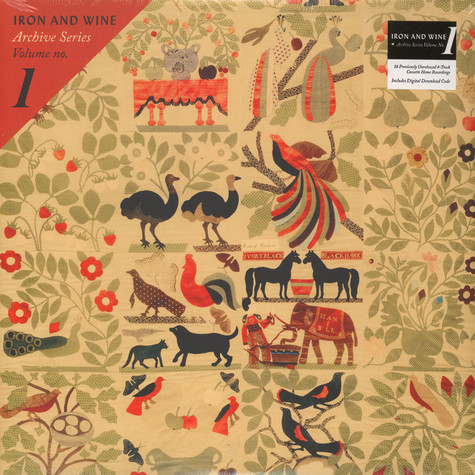 Iron And Wine - Archive Series Volume No. 1 Black Vinyl Edition