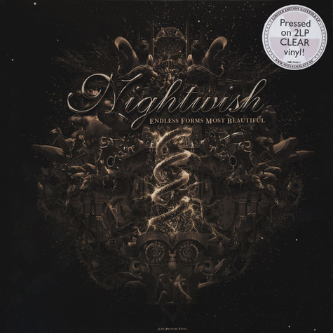 Nightwish - Endless Forms Most Beuatiful Clear Vinyl Edition
