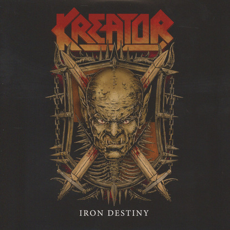 Kreator / Arch Enemy - Iron Destiny / Breaking The Law Red Vinyl Edition