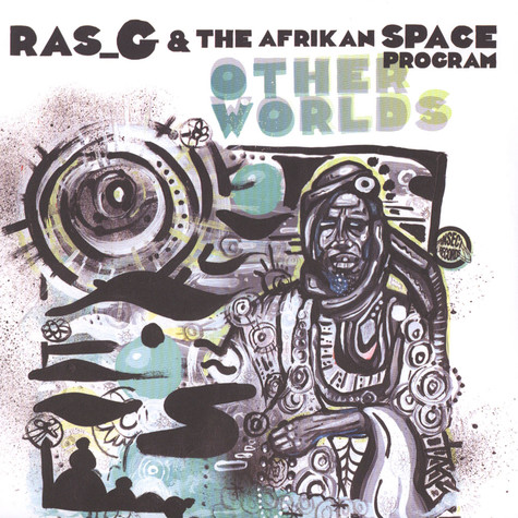 Ras G & The Afrikan Space Program - Other Worlds Red Vinyl Edition