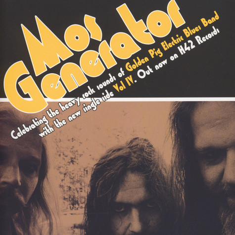 Mos Generator / Daily Thompson - Volume IV / Spit Out The Crap Black Vinyl Edition