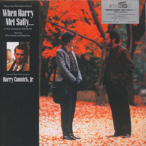 Harry Jr. Connick - OST When Harry Met Sally Colored Vinyl Edition