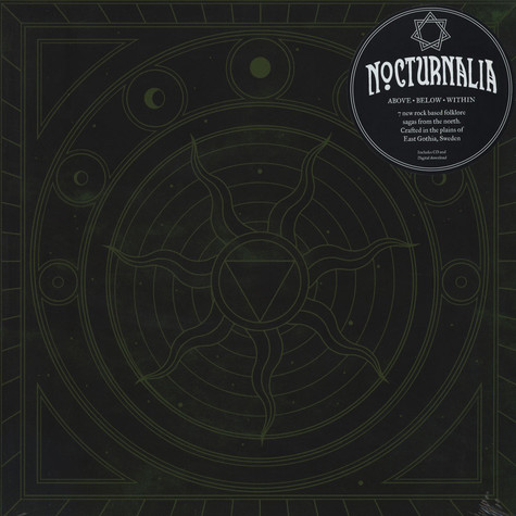 Nocturnalia - Above Below Within Transparent Green Vinyl Edition
