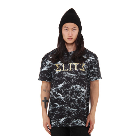 A Question Of - Black Marble Elite T-Shirt