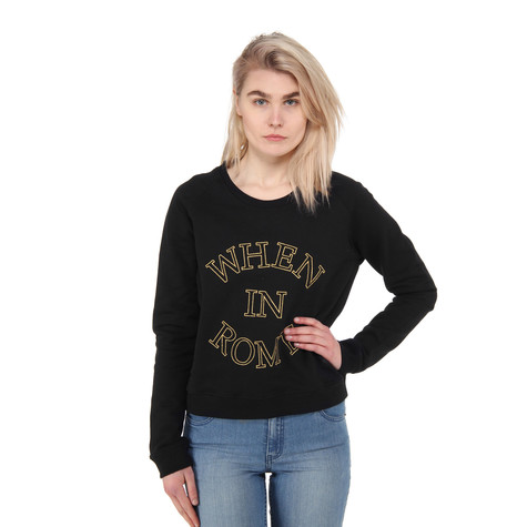 A Question Of - When In Rome Raglan Sweater
