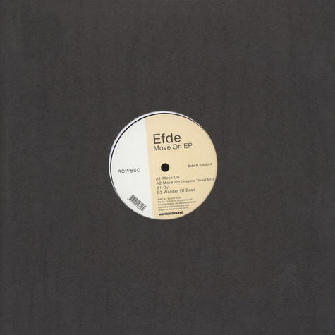 Efde - Move On EP Trus' Me Remix