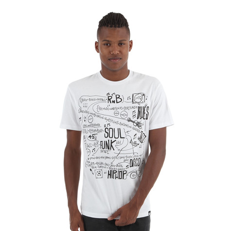 101 Apparel - Music Math T-Shirt